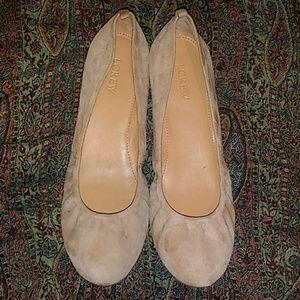 J Crewe Ballet Flats
